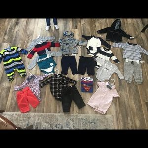 20 Clothing Items Lot NWT Baby Boy 3-6 months